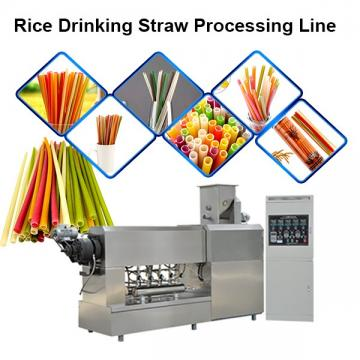 *** Hot Sale 2020 ** New Product Natural Straw Made From Rice Flour Rice Straw Making Machine