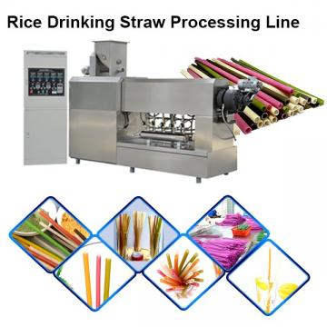 Biodegradable Environment Degradable Tube Drinking Straw Making Machine