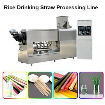 Natural Vegetable Edible Biodegradable Pasta Grain Rice Tapioca Drinking Straw Making Equipment Plant