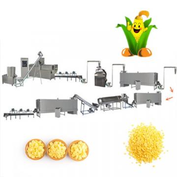 Corn Chips Puffs Cereals Sticks Snacks Cheese Ball Making Machine Breakfast Cereals Corn Flakes Twin Screw Extruder Machine Processing Line