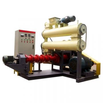 Screw Dry Floating Fish Feed Pellet Making Machine Extruder