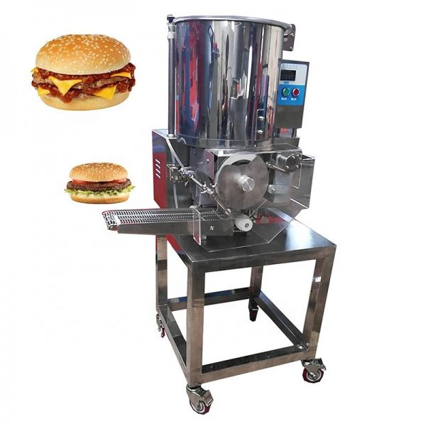 Fish Burger Patty Making Forming Machine Production Line