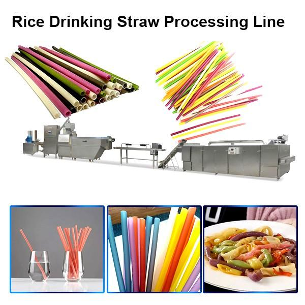 Industrial Pasta Macaroni Rice Drinking Straw Food Machine