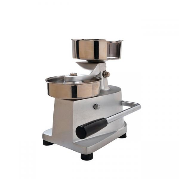 Tsp Tvp Textured Tissue Soya Protein Mince Machine Food Equipment Soyabean Nugget Making Processing Line Patty Burger Patty Machine Patty Forming Machine