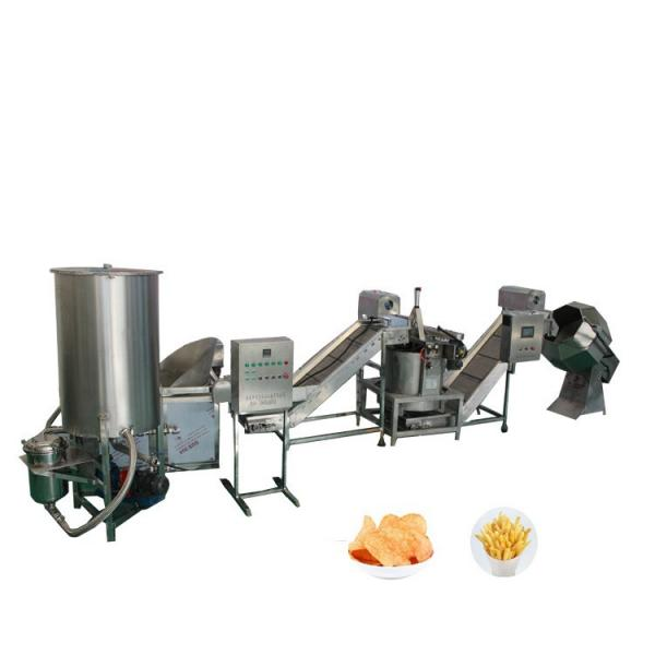 Semi Automatic Continuous Potato Chips French Fries Making Machine
